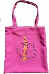 Anha'Lore Designs - Tribal - Exclusieve handgemaakte tote bag - Fuchsia