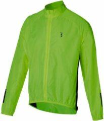 BBB Cycling PocketShield Fietsjas BBW-391 - Unisex Fietsjack Maat XXXL - Neon Geel