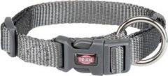 Trixie halsband hond premium grafiet grijs 30-45X1,5 CM