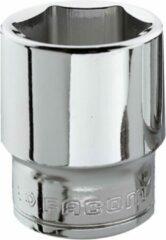 """Grijze Facom - Dop 3/8 Junior - J.14H Dopsleutel 6-kant 3/8"""" 14mm"""
