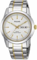 Goudkleurige Pulsar Pj6023X1 - Horloge - 37 mm - Zilverkleurig / Goudkleurig