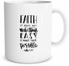 Christelijke Mok - Luke 1:37 - DagelijkseBroodkruimels