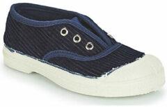 Blauwe Lage Sneakers Bensimon TENNIS ELLY CORDUROY
