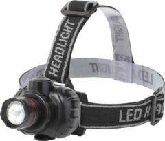 LED Hoofdlamp - Aigi Xixo - Waterdicht - 50 Meter - Kantelbaar - 1 LED - 1.8W - Zwart | Vervangt 10W - BSE