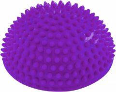 #DoYourFitness - Balans-bal - »Igel« - balanstraining, coördinatietraining en evenwichtstraining - 320g ca. 8cm hoog en 16cm diameter - paars
