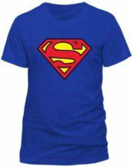 Blauwe DC Comics SUPERMAN - T-Shirt IN A TUBE- Logo (S)