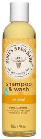 Afbeelding van Burt's Bees Burts Bees Baby bee shampoo body wash 235 ml