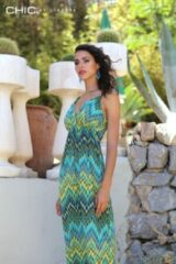 Turquoise Chic by Lirette Maxi jurk Nixi groen Lush Maxi jurk Dames Jurk Maat S