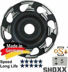 Zilveren Sameda Komschijf Diamant 125mm x 22.23 SAMEDIA Germany - 350002 SHOXX Z U5