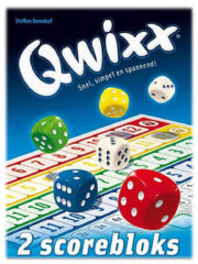 White Goblin Games Qwixx Score blocks dobbelspel