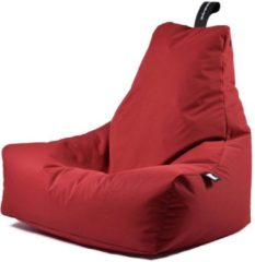 Extreme Lounging b-bag - Luxe zitzak - Indoor en outdoor - Waterafstotend - 95 x 95 x 90 cm - Polyester - Rood