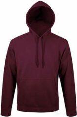 SOLS Snake Unisex Hooded Sweatshirt / Hoodie (Bourgondië)