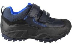 Blauwe Lage Sneakers Geox JN SAVAGE DOBLE