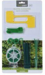 Groene Pro Garden Plantenaccessoires - 53 stuks - Binddraad - Plantenlabels - Plantenstekers - Tuin