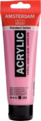 Roze Royal Talens Amsterdam Standard acrylverf tube 120ml - Quinacridone rose licht - dekkend