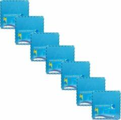 Comfortpool - zwembad tegels - blauw - 35 tegels - 60 x 60 cm - 12,6 m2 - zwembad ondertegels