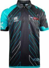 Zwarte Target Rob Cross Dartshirt 2018 Maat: M