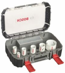 Bosch Blauw Gatzagenset   Bi-Metaal   Power Change   9-delige sanitairset, Progressor gatzagen t/m 68mm