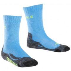 Blauwe Falke - Kid´s TK2 - Trekkingsokken maat 23-26 blauw/grijs