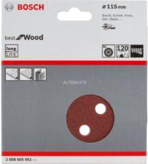 Stayer Bosch C470 Schleifblatt, 5er-Pack für Exzenterschleifer 2608605061