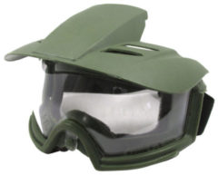Hunting Tactical Contest PC Lens Shade Goggles CS Combat Training Riot Anti Shock Glasses