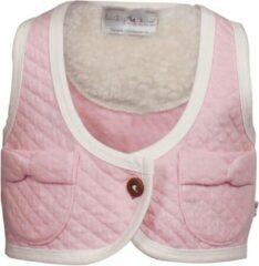 Roze Ducky Beau Meisjesgilet - Baby Pink - Maat 62
