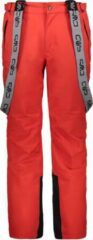 Campagnolo CMP Salopette Wintersportbroek - Maat 56 - Mannen - rood