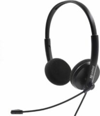Sandberg 325-41 hoofdtelefoon/headset Hoofdband 3,5mm-connector Zwart