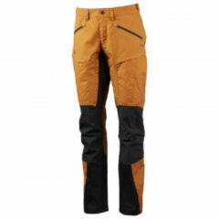Lundhags - Women's Makke Pro Pant - Wandelbroek maat 34, zwart/bruin/oranje