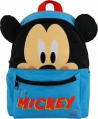 Disney Rugzak Mickey Mouse 31 X 25 X 11 Cm Blauw