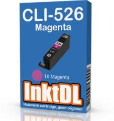 INKTDL inktcartridge voor Canon | CLI-526XL Magenta