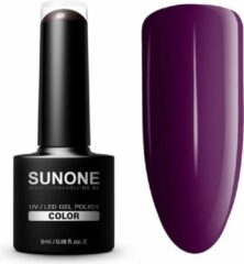 SUNONE UV/LED Hybrid Gel Paarse Nagellak 5ml. - F09 Fay
