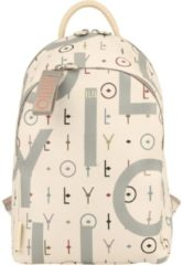 Oilily Jolly Letters Backpack MVZ OILILY 101 offwhite