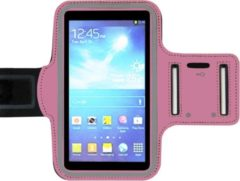 ADEL Sportarmband 4.7 Inch Microfiber Hoesje voor Samsung Galaxy A40 - Roze