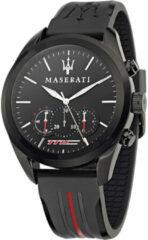 Rode Maserati Traguardo chronograaf zwart-rood