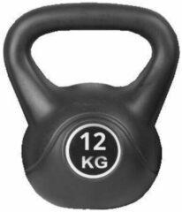 Zwarte Kettlebell Focus Fitness - 12 KG