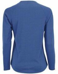 Blauwe T-Shirt Lange Mouw Sols SPORT LSL WOMEN