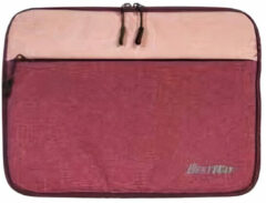 Bestway laptophoes Evolution 14 inch polyester rood/roze