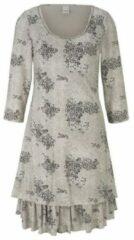 Grijze LINEA TESINI by Heine , Jurk met print »jurk met print«