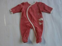 Pyjama noukie's 3 maand 62cm meisje fuchia
