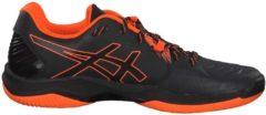 Handballschuhe Blast FF mit FlyteFoam Mittelsohle 1071A002-001 Asics Black/Shocking Orange