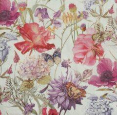 Home Fasion Servetten Floral Poem 33 x 33 cm
