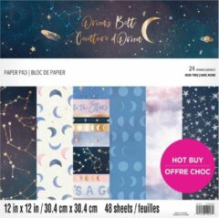 Craft Smith Orion's Belt 12x12 Inch Paper Pad (MSE6154)