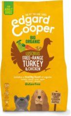 Edgard-Cooper Edgard&Cooper Bio Organic Turkey Adult Kalkoen&Kip&Wortel - Hondenvoer - 2.5 kg Biologisch