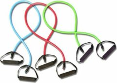 Rode Matchu Sports - Fitness elastieken Set (Match-U Resistance tube Set)