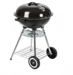 Green Arrow Barbecue Garden Grill Kogelgrill Houtskoolbarbecue bbq - Ø44 cm - Zwart