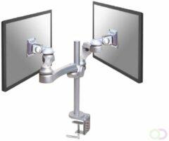 NewStar FPMA-D930D Monitor-tafelbeugel 2-voudig 25,4 cm (10) - 76,2 cm (30) In hoogte verstelbaar, Kantelbaar, Zwenkbaar, Roteerbaar