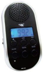 Point Fahrrad-Radio BR 23 mit LED Lampe - schwarz