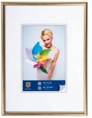 Goudkleurige Henzo Fotolijst - Napoli - Fotomaat 21x30 Cm - Goud