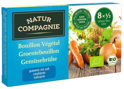 Afbeelding van Natur Compagnie Groentebouillon Zonder Zout (68g)